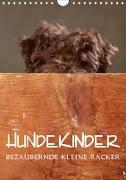 Cover-Bild zu Behr, Jana: Hundekinder - Bezaubernde kleine Racker (Wandkalender 2021 DIN A4 hoch)