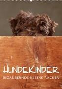 Cover-Bild zu Behr, Jana: Hundekinder - Bezaubernde kleine Racker (Wandkalender 2021 DIN A2 hoch)