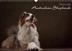 Cover-Bild zu Behr, Jana: Charmante Australian Shepherds (Wandkalender 2021 DIN A3 quer)
