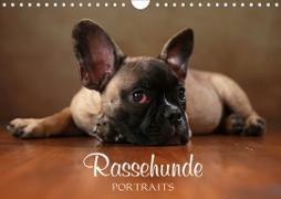 Cover-Bild zu Behr, Jana: Rassehunde Portraits (Wandkalender 2021 DIN A4 quer)
