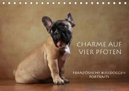 Cover-Bild zu Behr, Jana: Charme auf vier Pfoten - Französische Bulldoggen Portraits (Tischkalender 2021 DIN A5 quer)