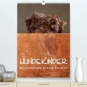 Cover-Bild zu Behr, Jana: Hundekinder - Bezaubernde kleine Racker (Premium, hochwertiger DIN A2 Wandkalender 2021, Kunstdruck in Hochglanz)