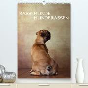 Cover-Bild zu Behr, Jana: Rassehunde - Hunderassen (Premium, hochwertiger DIN A2 Wandkalender 2021, Kunstdruck in Hochglanz)