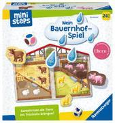 Cover-Bild zu Danner, Eva: Ravensburger ministeps 4173 Unser Bauernhof-Spiel, Erstes Spiel rund um Tiere, Farben und Formen - Spielzeug ab 2 Jahre