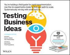 Cover-Bild zu Bland, David J.: Testing Business Ideas