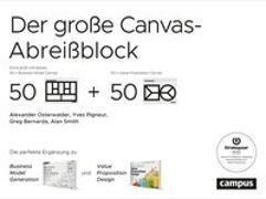 Cover-Bild zu Osterwalder, Alexander: Der große Canvas-Abreißblock
