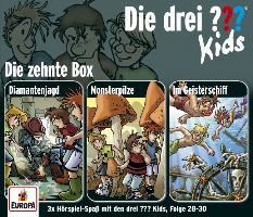 Cover-Bild zu Die drei ??? Kids 3er Box 10. Folge 28-30