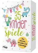 Cover-Bild zu 35 Kinderspiele für drinnen, draußen und unterwegs
