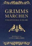 Cover-Bild zu Grimm, Jacob: Grimms Märchen - vollständig und illustriert (Cabra-Lederausgabe)