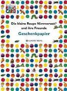 Cover-Bild zu Carle, Eric (Illustr.): Die kleine Raupe Nimmersatt und ihre Freunde Geschenkpapier-Heft