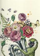 Cover-Bild zu Pabuku 10,5x14,8 cm - GreenLine Booklet - 48 Seiten, Punktraster und blanko - Softcover - gebunden