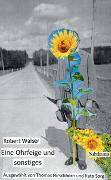 Cover-Bild zu Walser, Robert: Eine Ohrfeige und sonstiges