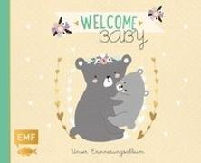 Cover-Bild zu Welcome Baby - Unser Erinnerungsalbum von Edition Michael Fischer (Hrsg.)
