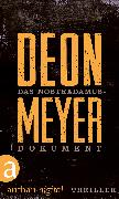 Cover-Bild zu Meyer, Deon: Das Nostradamus-Dokument (eBook)