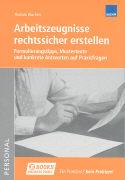 Cover-Bild zu Arbeitszeugnisse rechtssicher erstellen