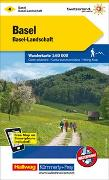 Cover-Bild zu Hallwag Kümmerly+Frey AG (Hrsg.): Basel, Basel-Landschaft Wanderkarte Nr. 4. 1:60'000