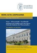 Cover-Bild zu Hacker, Jörg (Hrsg.): Natur - Wissenschaft - Gesellschaft. Rückblick und Ausblick nach zehn Jahren Nationale Akademie der Wissenschaften