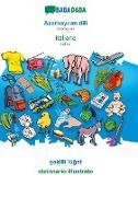Cover-Bild zu BABADADA, Az¿rbaycan dili - italiano, s¿killi lüg¿t - dizionario illustrato