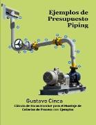 Cover-Bild zu Ejemplos de Presupuesto - Piping von Cinca, Gustavo