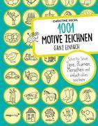Cover-Bild zu Rechl, Christine: 1001 Motive zeichnen - ganz einfach