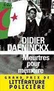 Cover-Bild zu Daeninckx, Didier: Meurtres pour mémoire