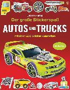 Cover-Bild zu Tudhope, Simon: Der große Stickerspaß: Autos und Trucks