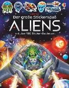 Cover-Bild zu Tudhope, Simon: Der große Stickerspaß: Aliens