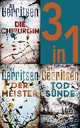 Cover-Bild zu Gerritsen, Tess: Rizzoli & Isles Band 1-3: - Die Chirurgin / Der Meister / Todsünde (3in1-Bundle) (eBook)