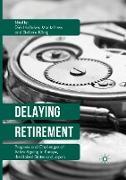 Cover-Bild zu Delaying Retirement von Hofäcker, Dirk (Hrsg.)