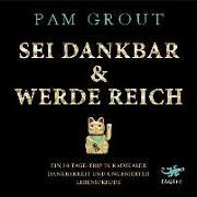 Cover-Bild zu Grout, Pam: Sei dankbar & werde reich