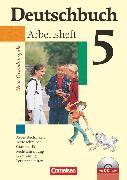 Cover-Bild zu Berghaus, Christoph: Deutschbuch, Sprach- und Lesebuch, Grundausgabe 2006, 5. Schuljahr, Arbeitsheft mit Lösungen und Übungs-CD-ROM
