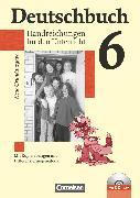 Cover-Bild zu Berghaus, Christoph: Deutschbuch, Sprach- und Lesebuch, Grundausgabe 2006, 6. Schuljahr, Handreichungen für den Unterricht, Kopiervorlagen und CD-ROM
