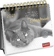 Cover-Bild zu Inspirierende Worte für Katzenfreunde 2021 von Groh Redaktionsteam (Hrsg.)