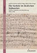 Cover-Bild zu Haag, Norbert (Hrsg.): Die Kantate im deutschen Südwesten