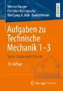 Cover-Bild zu Aufgaben zu Technische Mechanik 1-3 (eBook) von Hauger, Werner