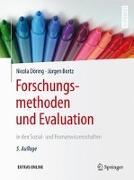 Cover-Bild zu Forschungsmethoden und Evaluation in den Sozial- und Humanwissenschaften von Döring, Nicola