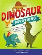 Cover-Bild zu Dinosaur Devotions von Adams, Michelle Medlock