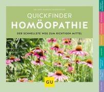 Cover-Bild zu Quickfinder Homöopathie von Wiesenauer, Markus