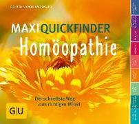 Cover-Bild zu MaxiQuickfinder Homöopathie von Wiesenauer, Markus