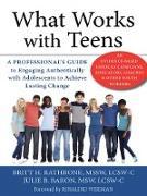 Cover-Bild zu Rathbone, Britt H.: What Works with Teens (eBook)