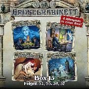 Cover-Bild zu Gruselkabinett, Box 15: Folgen 54, 55, 56, 57 (Audio Download) von Askew, Alice & Claude