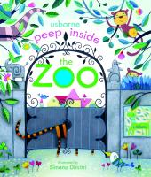 Cover-Bild zu Milbourne, Anna: Peep Inside. The Zoo