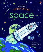 Cover-Bild zu Milbourne, Anna: Peep Inside: Space