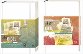 Cover-Bild zu NLB Art Journaling Bible - Paket AT und NT - 3 Einzelbände von Leben, Bibelausgaben-Neues