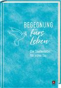 Cover-Bild zu Begegnung fürs Leben - Motiv Wasserfarbe von Leben, Bibelausgaben-Neues