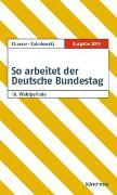 Cover-Bild zu So arbeitet der Deutsche Bundestag von Strasser, Susanne