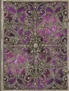 Cover-Bild zu Silberfiligran Aubergine Gross liniert
