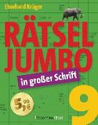 Cover-Bild zu Krüger, Eberhard: Rätseljumbo in großer Schrift 9