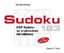 Cover-Bild zu Krüger, Eberhard: Sudoku Block 183 (5 Exemplare à 2,99 ?)