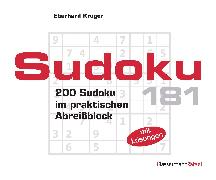 Cover-Bild zu Krüger, Eberhard: Sudoku Block 181 (5 Exemplare à 2,99 ?)